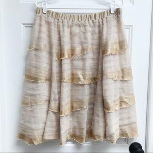 Tiny (Anthropologie) Tulle Sequin Skirt